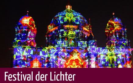 Berlin Sightseeing beim Festival of Lights